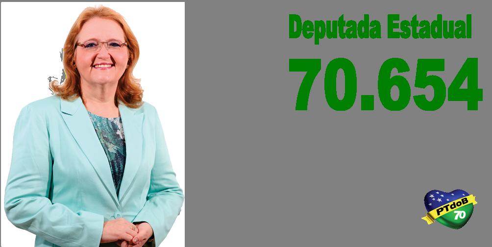 Cristhina Brasil - Dep.Estadual - 70654