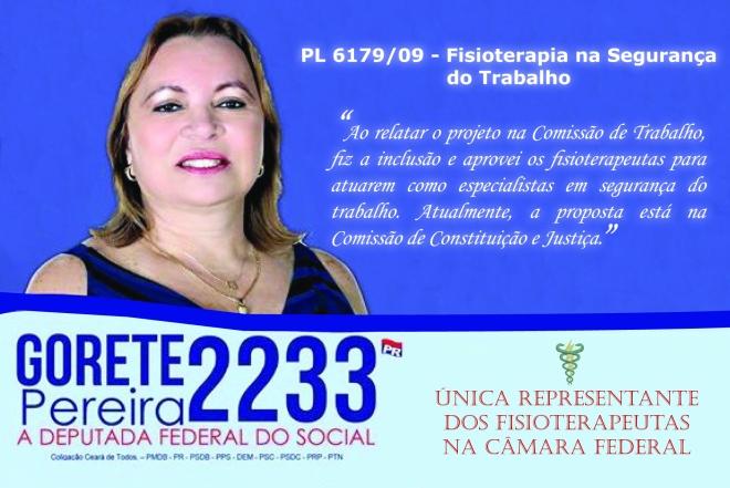 candidata a deputada federal
