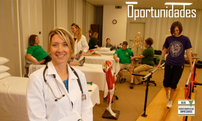 oportunidade fisioterapia